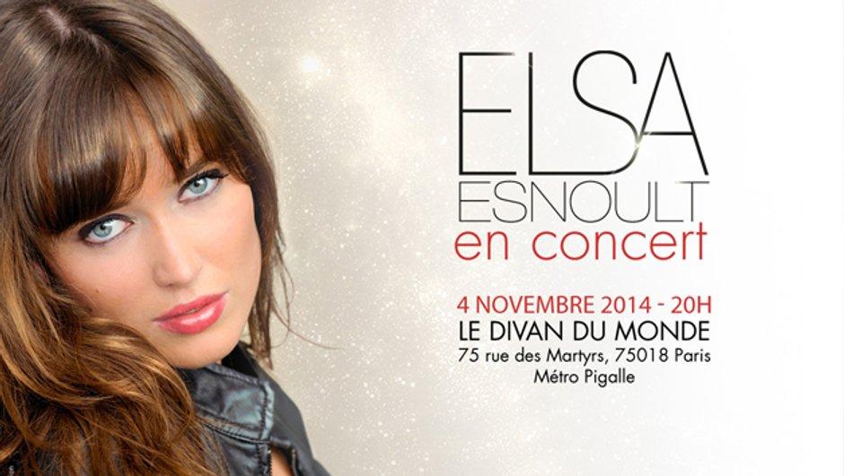 Quand fiction et réalité se mêlent : Elsa Esnoult  des Mystères de l'Amour fait son premier concert à Paris