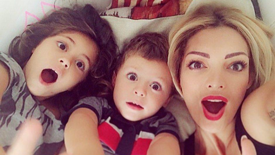 Emilie Nef Naf complice avec ses enfants, elle publie un cliché trop mignon !