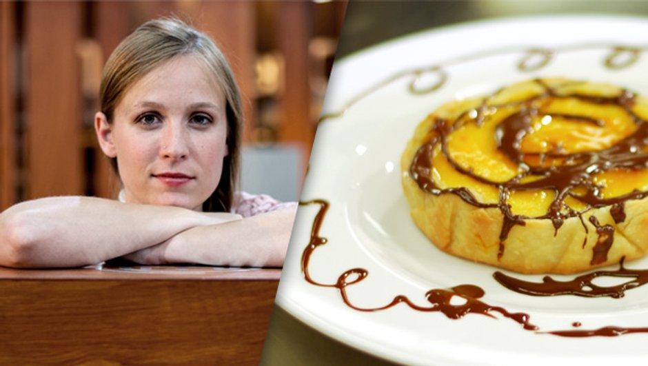 Cheesecake chaud à l'orange et au chocolat par Emma
