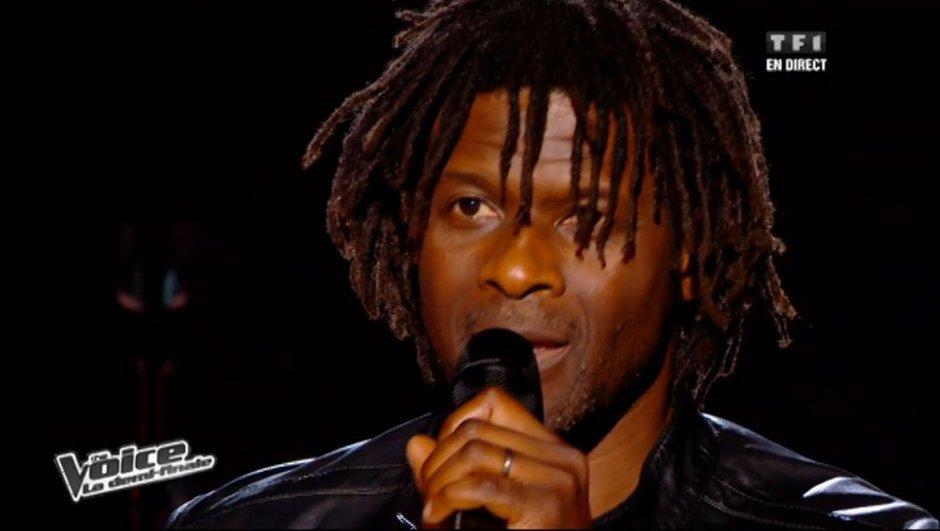 The Voice: fin de l'aventure pour Emmanuel Djob....