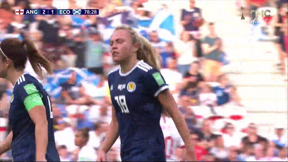 Angleterre-Ecosse - La réduction du score d'Emslie en vidéo