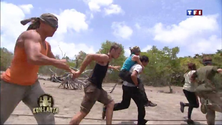 Koh Lanta : une course à l'aveugle haletante comme épreuve d'immunité