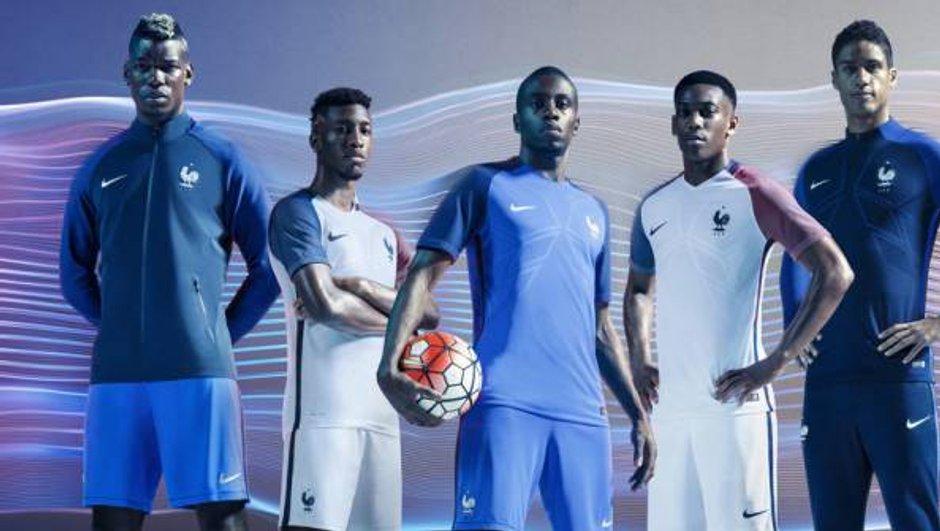 Equipe de France : Les maillots domicile et extérieur pour l'Euro dévoilés !