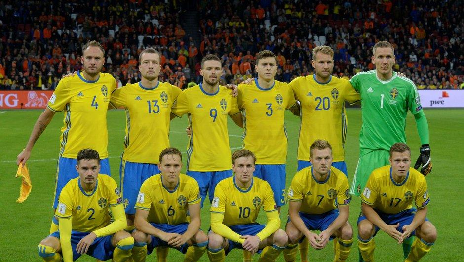 Suède - La liste des 23 dévoilée