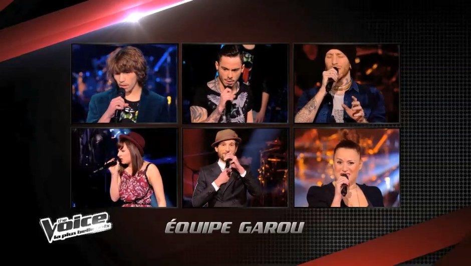 The Voice 3 : La meilleure équipe pour Garou ?