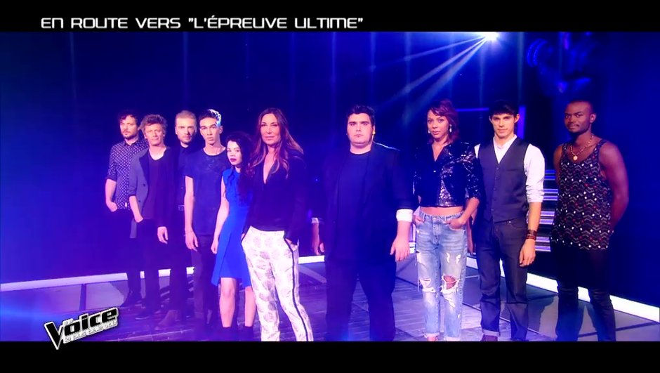 The Voice 4 - EN IMAGES : La Team Zazie se dévoile avant l'Epreuve Ultime