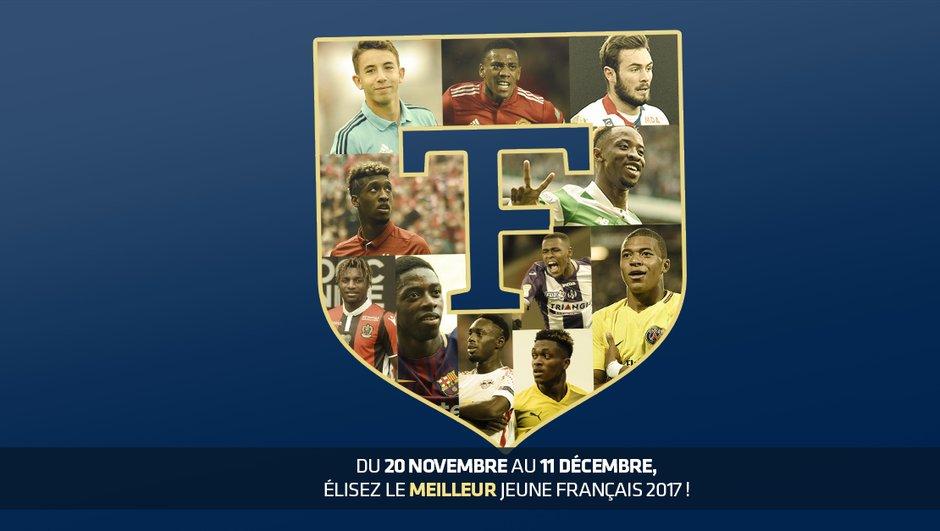 Trophée Téléfoot du Meilleur Espoir Français 2017 - Découvrez les onze finalistes de la deuxième édition
