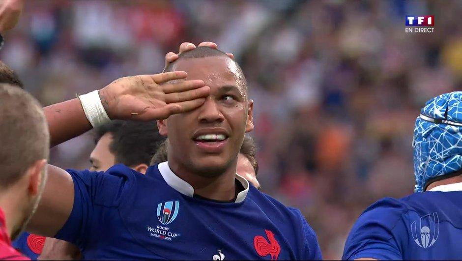 Revivez le premier essai français en Coupe du Monde !