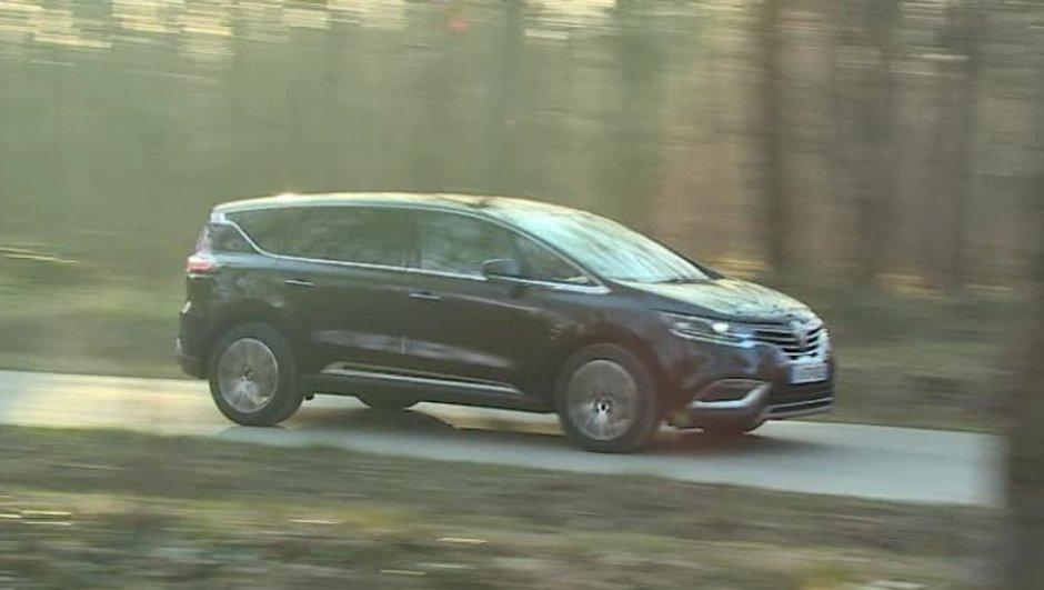 Automoto : le nouveau Renault Espace à l'essai le 5 avril 2015