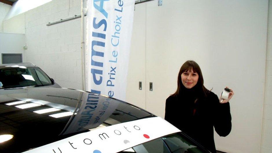 Jeu-Concours : notre gagnante a récupéré sa voiture !