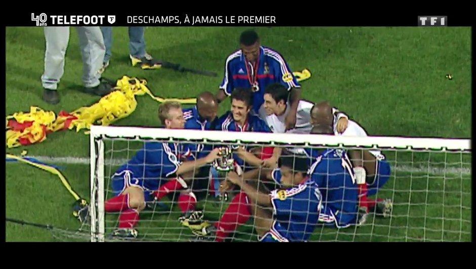 """[EXCLU Téléfoot 10/12] - Le Document Téléfoot - Deschamps sur le France / Italie de l'Euro 2000 : """"J'étais peut-être le seul à y croire"""""""