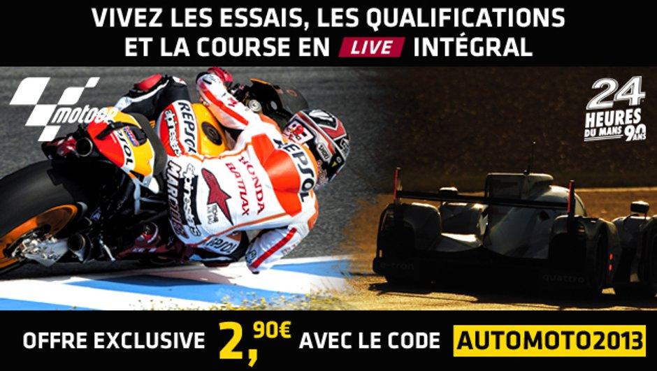 Comment suivre les courses de MotoGP ou les 24h du Mans en direct vidéo ?