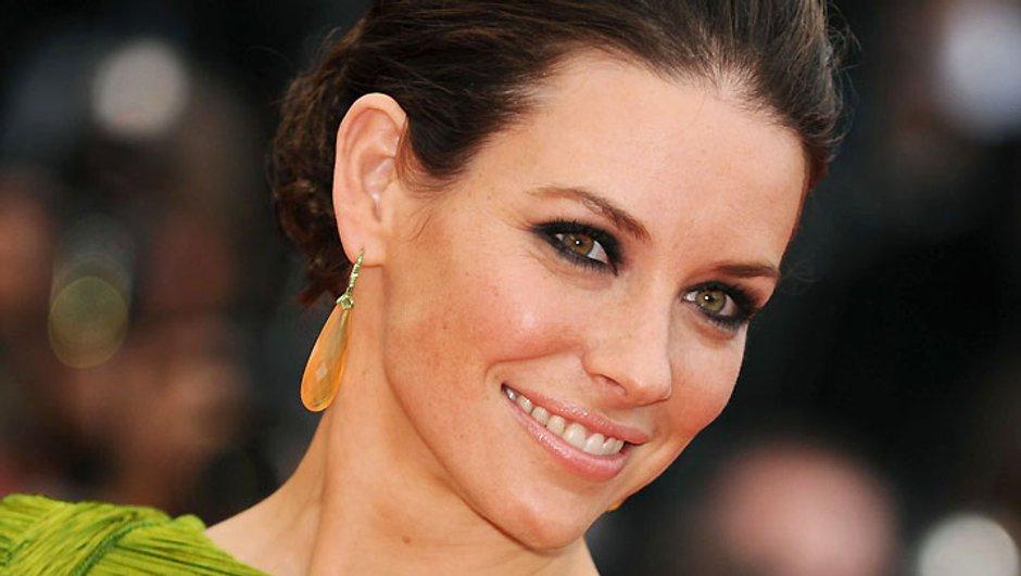 Evangeline Lilly tout sourire au Festival de Cannes