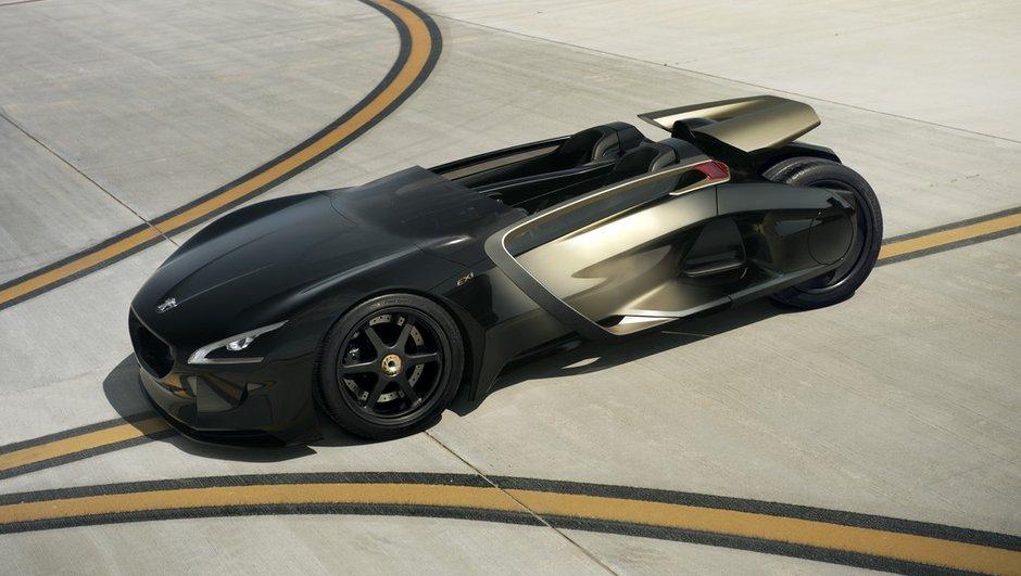 Peugeot EX1: un concept-car survolté pour les 200 ans de Peugeot