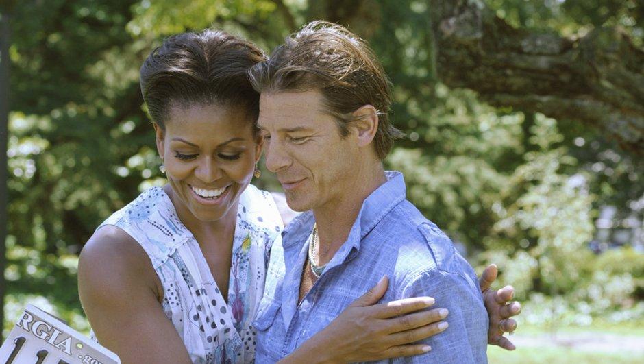 Michelle Obama, invitée d'honneur dans les maçons du coeur