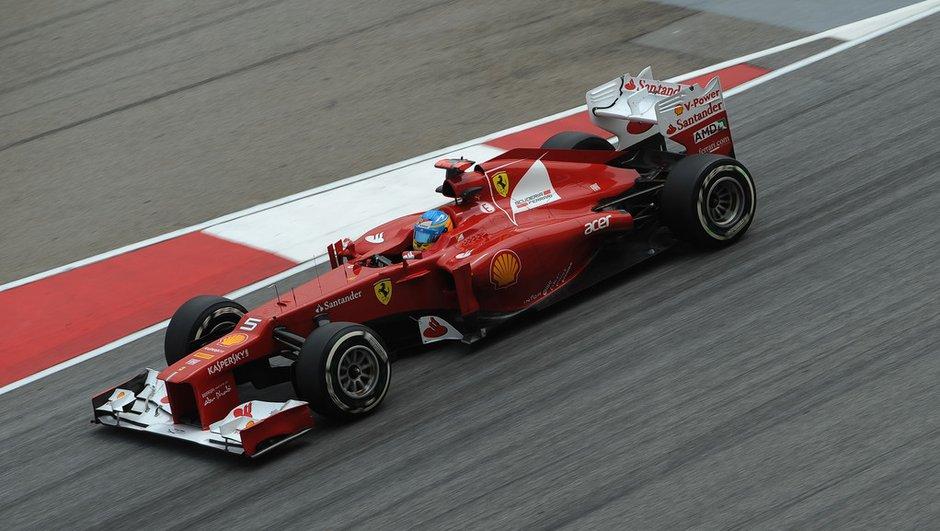 F1 - GP de Malaisie : Victoire de Fernando Alonso sur Ferrari
