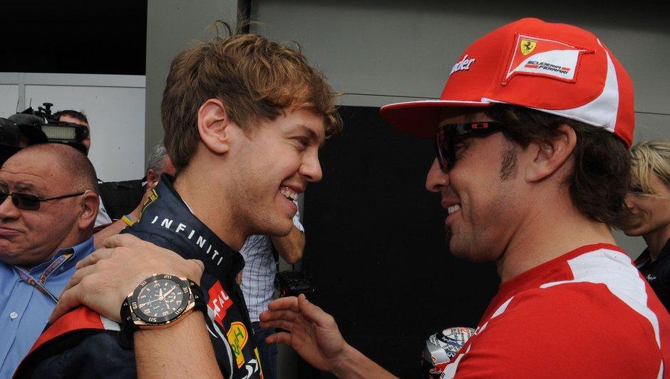 F1 - GP Japon : Vettel heureux, Alonso pas abattu, Grosjean face au mur