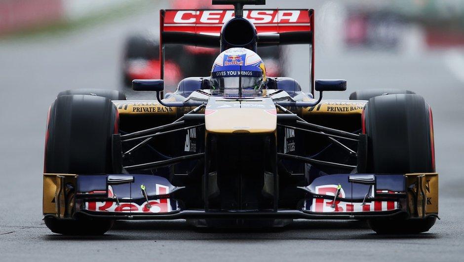 F1 - Essais 1 GP de Grande-Bretagne 2013 : une séance pour rien