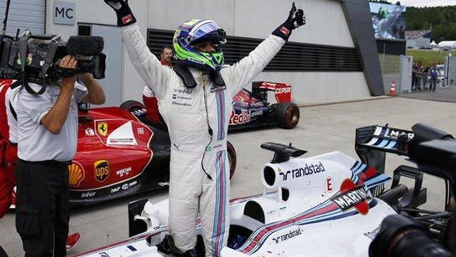 F1 - Autriche 2014 : Massa sur son nuage