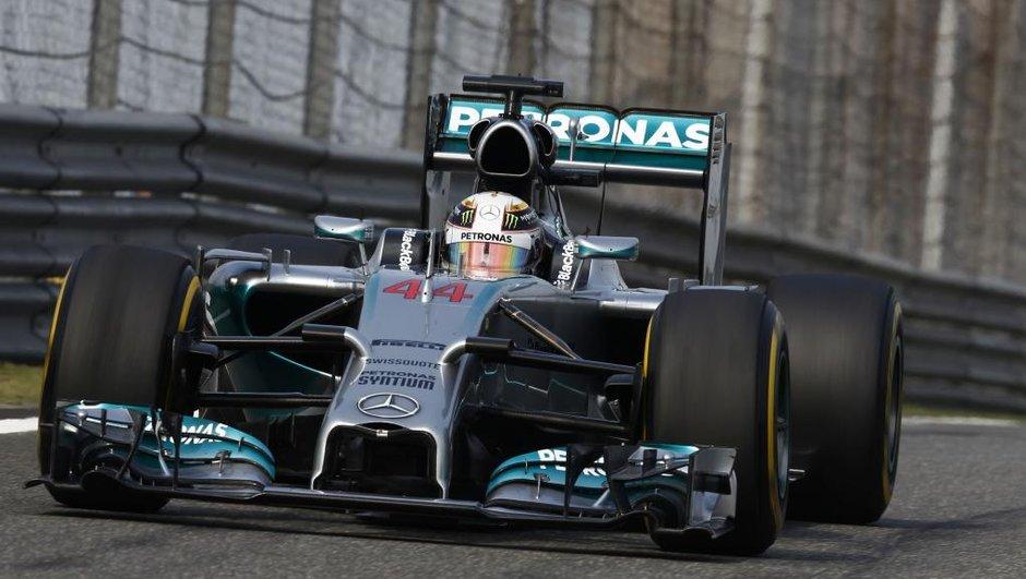 F1 2014 - GP de Chine : Hamilton triomphe en cavalier seul