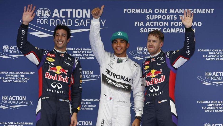 F1 2014 - GP de Chine : Hamilton domine les qualifications