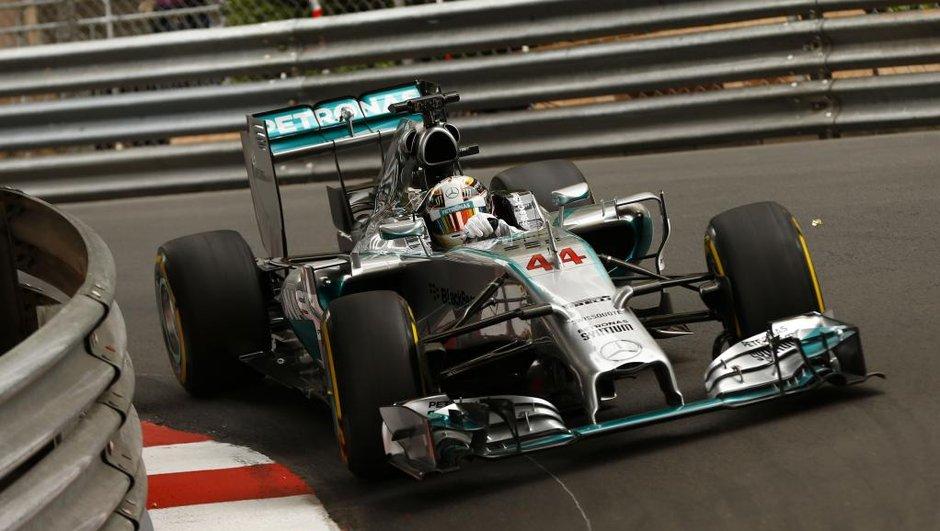 F1 - GP de Monaco 2014, essais libres 3 : Hamilton d'un souffle devant Ricciardo