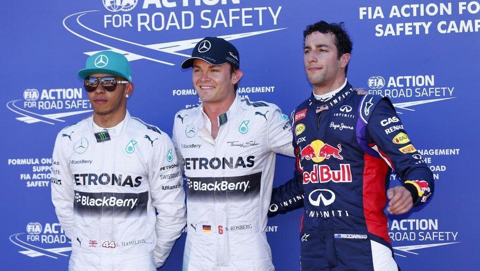 F1 - GP de Monaco 2014 : Rosberg, maitre des lieux en qualifications