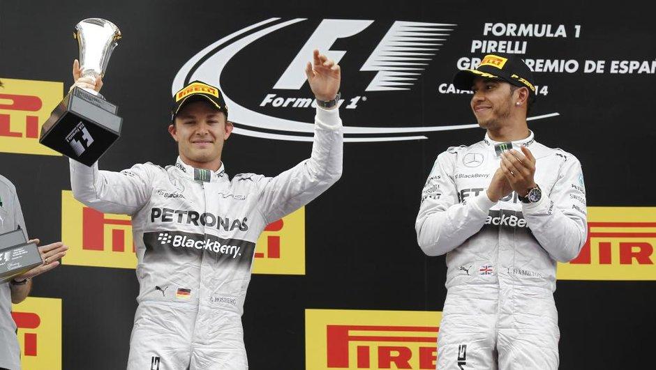 F1 2014 : fin des tensions entre Hamilton et Rosberg ?