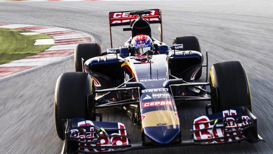 F1 2015 : Toro Rosso présente sa STR 10