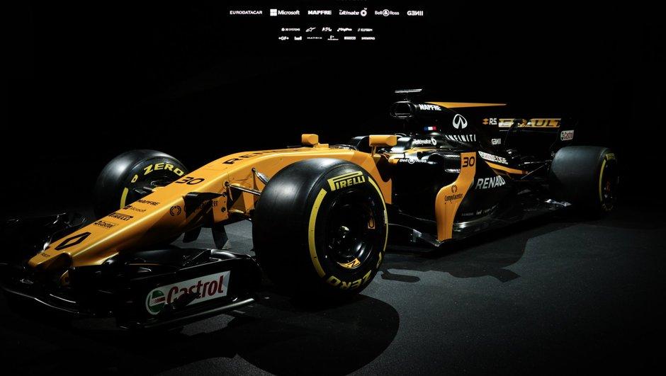 F1 2017 : Renault dévoile sa monoplace RS17