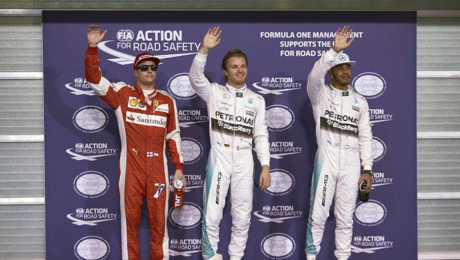 F1 – Qualifications GP Abu Dhabi 2015 : Rosberg en pole position