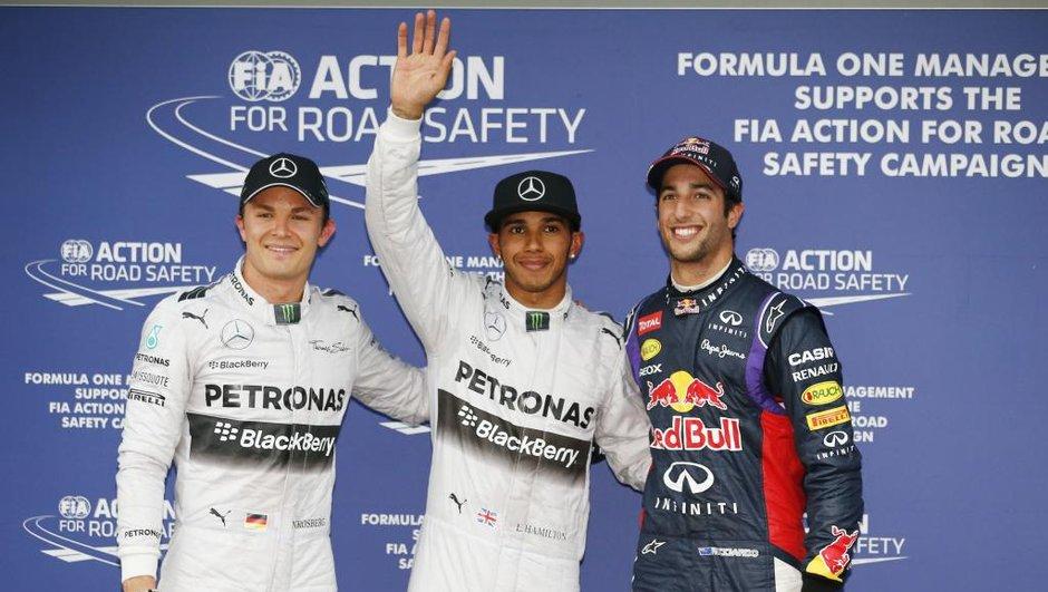 F1 - GP d'Australie 2014 : Hamilton hisse sa Mercedes en pole position