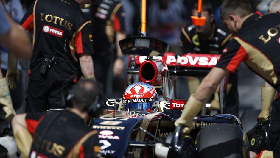 F1 - GP d'Australie 2014 : Lotus toujours en grande difficulté