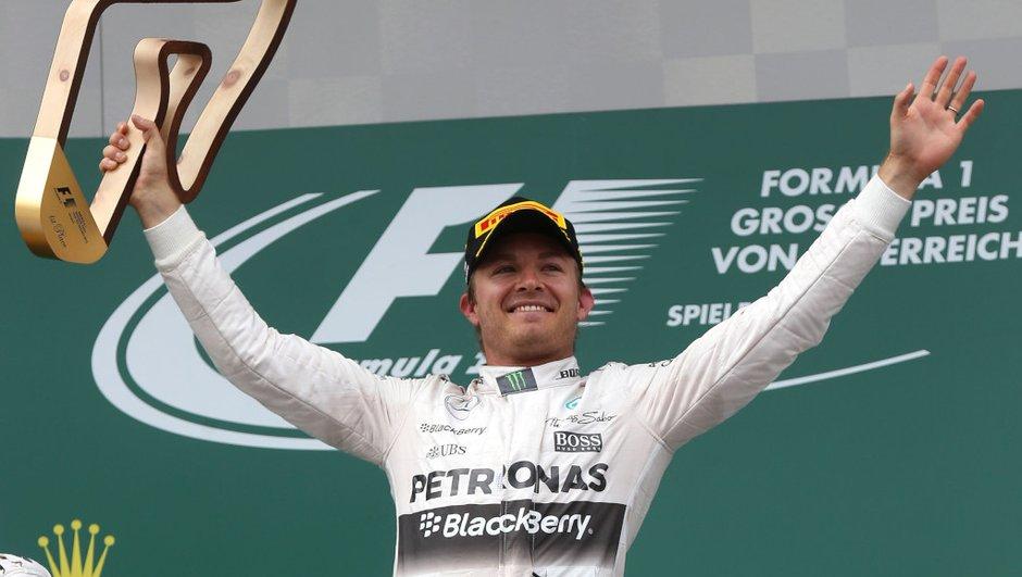 F1 – Autriche 2015 : Bonne opération pour Rosberg