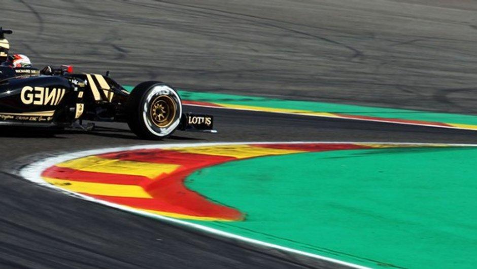 F1 – Belgique 2015 : Grosjean de retour sur le podium
