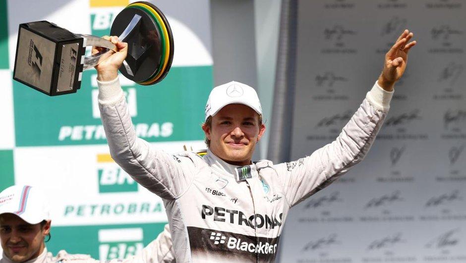 F1 - Brésil 2014 : Objectif atteint pour Rosberg