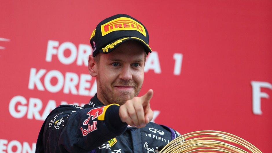 F1 - GP de Corée 2013 : les déclarations du vainqueur