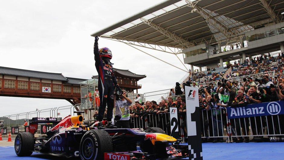 F1 - GP de Corée 2013 : Vettel survole la course, Grosjean sur le podium