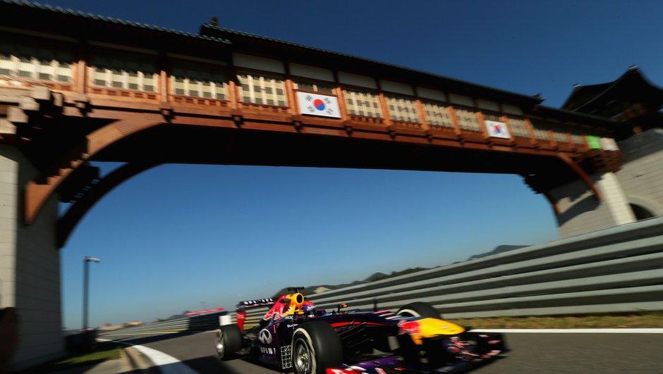 F1 - GP de Corée 2013: la grille de départ