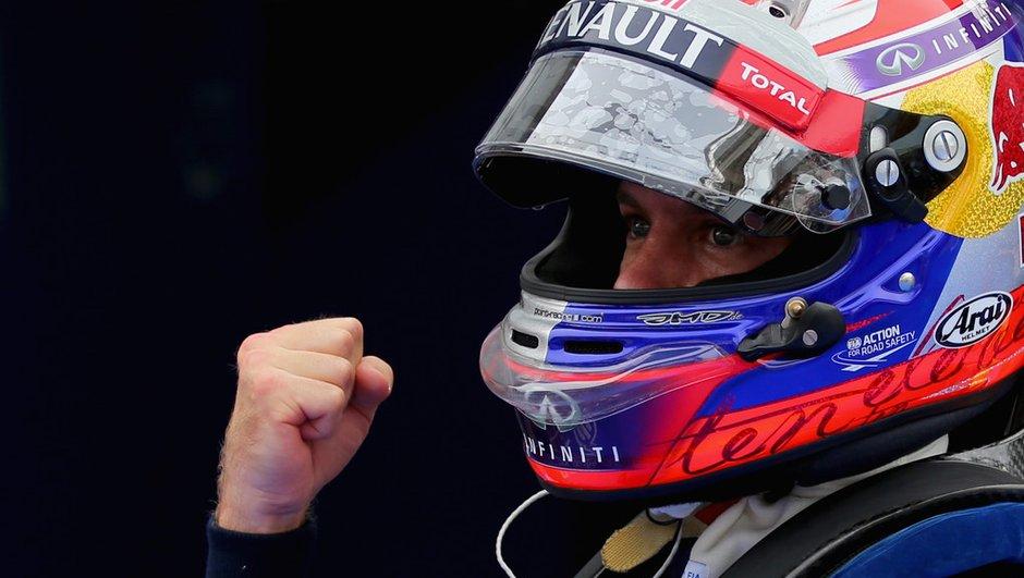 F1 - GP de Corée 2013 : Vettel confiant pour la course