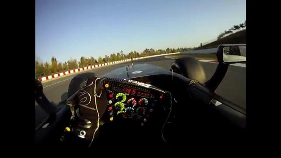 Vidéo : dans l'oeil du pilote de F1