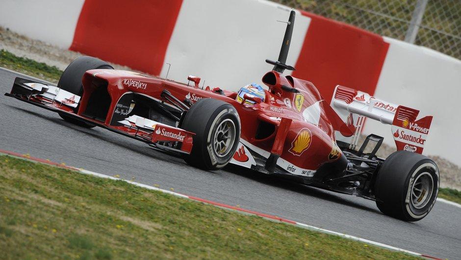 F1 - Essais 1 GP d'Espagne: Avec Alonso et Massa, Ferrari donne le tempo