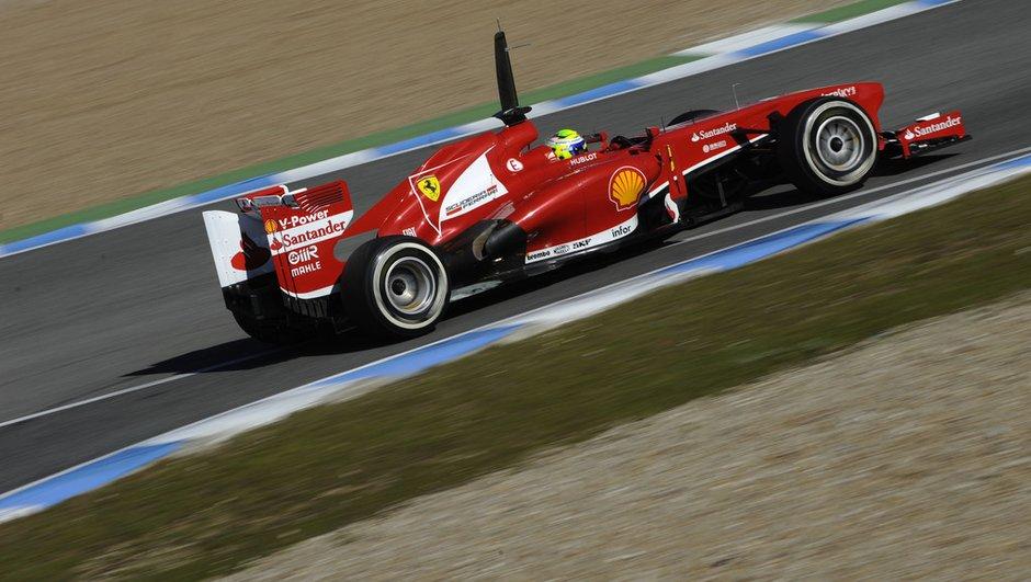 F1 - essais Jerez : Massa au top de la troisième journée