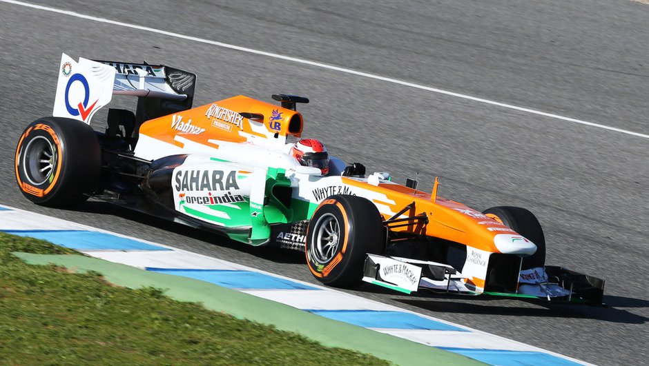 F1 : Sutil à l'essai sur Force India ce jeudi