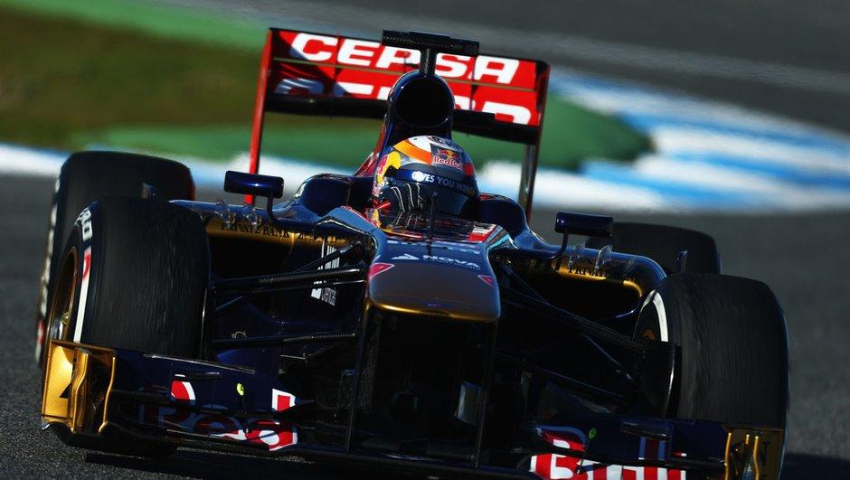 F1 2013 : Jean-Eric Vergne sûr de lui et de sa voiture