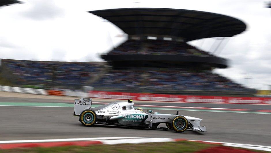 F1 - GP Allemagne : la grille de départ