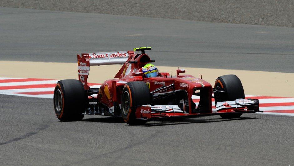 F1 - Essais 1 GP Bahrein : Ferrari se place