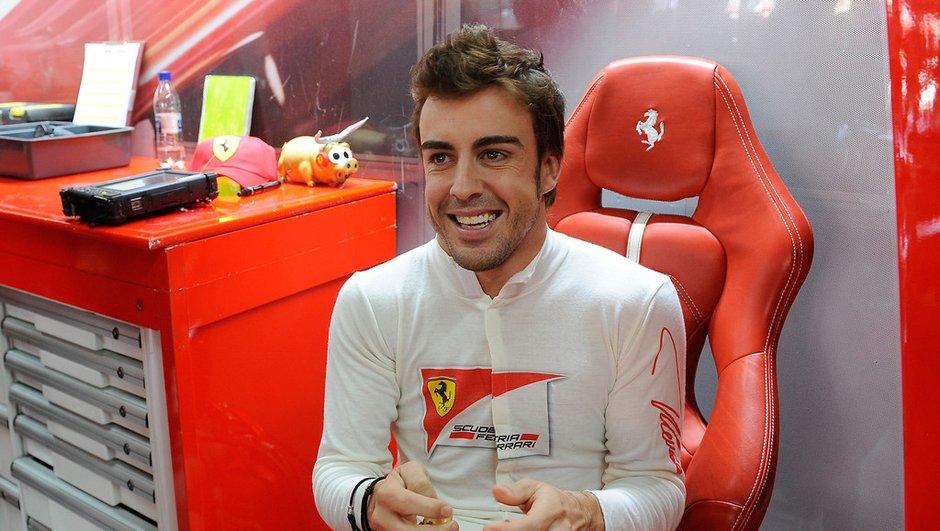 F1 - GP du Brésil 2013 : Alonso veut bien terminer