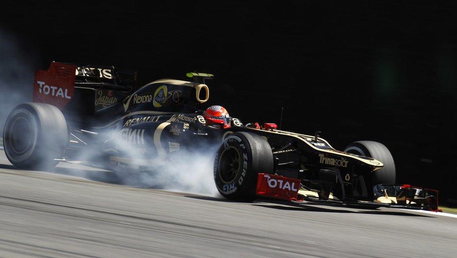 """F1 - GP du Brésil : un """"désastre"""" pour Grosjean"""
