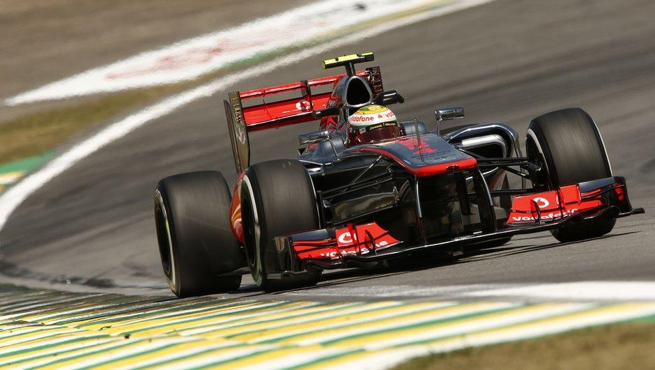 F1 - GP du Brésil : Hamilton signe la dernière pole